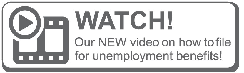 Watch our new video on how to file for unemployment benefits.